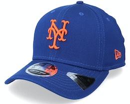 New York Mets League Essential 9FIFTY Royal/Orange Adjustable - New Era