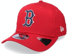 Boston Red Sox League Essential 9FIFTY Scarlet Adjustable - New Era