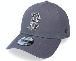 Boston Red Sox Infill 9Forty Grey Adjustable - New Era