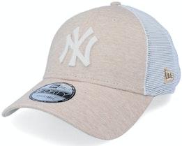 New York Yankees Home Field 9FORTY Wheat/White Trucker - New Era