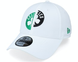 Boston Celtics Half Half 9FORTY White Adjistable - New Era