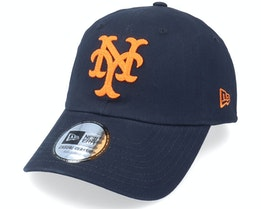 New York Mets Coops Cscl 9TWENTY Navy/Orange Dad Cap - New Era