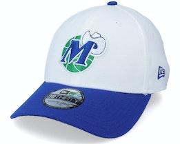 Dallas Mavericks 39Thirty Bot White/Blue Flexfit - New Era