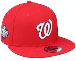 Washington Nationals 9Fifty MLB Paisley Undervisor Scarlet Snapback - New Era