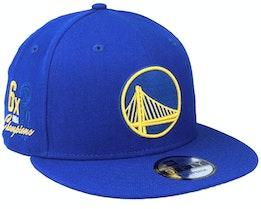 Golden State Warriors 9Fifty NBA Paisley Undervisor Royal Snapback - New Era