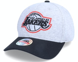 Los Angeles Lakers 186 Red Grey/Black Adjustable - Mitchell & Ness