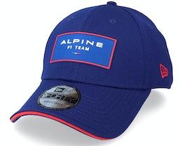 Alpine F1 Fancap Dash 9Forty Dry Blue Adjustable - New Era