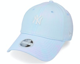 New York Yankees Womens Tie Dye 9FORTY Blue Adjustable - New Era