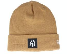 New York Yankees Team Beanie Wheat Cuff - New Era
