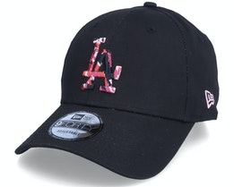 Los Angeles Dodgers Camo Infill 9FORTY Black/Pink Adjustable - New Era