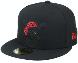 Pittsburgh Pirates Pop Element 59FIFTY Black Fitted - New Era