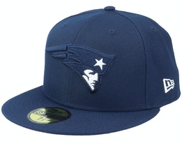 New England Patriots Pop Element 59FIFTY Navy Fitted - New Era