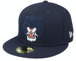 Detroit Tigers Pop Element 59FIFTY Navy Fitted - New Era