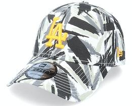 Los Angeles Dodgers New Camo Recreated 9FORTY Black Camo/Yellow Adjustable - New Era