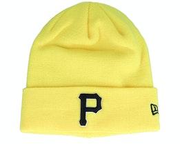 Pittsburgh Pirates League Essential Knit Yellow/Black Cuff - New Era