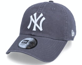 New York Yankees League Essential 9FORTY Grey Dad Cap - New Era