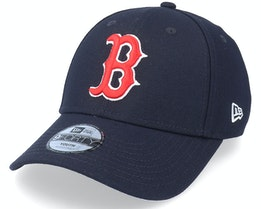 Kids Boston Red Sox 9FORTY The League Navy Adjustable - New Era