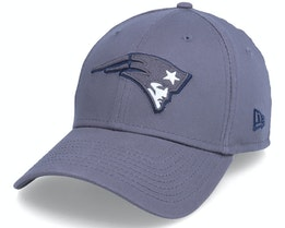 New England Patriots Gray Pop 39THIRTY Grey Flexfit - New Era