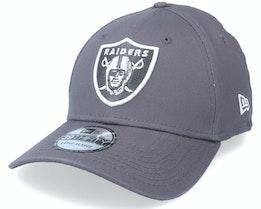 Las Vegas Raiders Gray Pop 39THIRTY Grey Flexfit - New Era