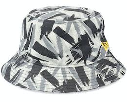 Camo Recreated Tapered Black Bucket - New Era