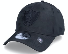 Las Vegas Raiders Black Camo 39THIRTY Black Flexfit - New Era