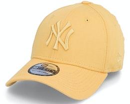 New York Yankees League Essential 39THIRTY Yellow Adjustable - New Era