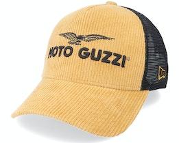 Moto Guzzi Micro Cord Toffee/Black Trucker - New Era