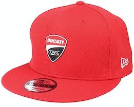 Ducati Ducati Dashmark Mesh 9FIFTY Scarlet Snapback - New Era