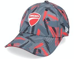 Ducati Ducati AOP Black/Scarlet Adjustable - New Era