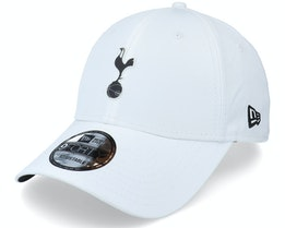Tottenham Hotspur Rubber Patch 9FORTY White Adjustable - New Era