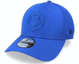 Manchester United Rubber Patch 9FORTY Navy Adjustable - New Era