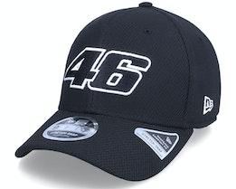 Moto GP Diamond Era 9FIFTY VR46 Black Adjustable - New Era