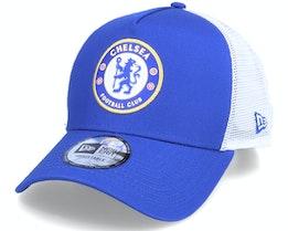 Chelsea Cotton 9FORTY EF Blue/White Trucker - New Era