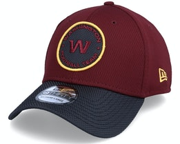 Washington Football Team NFL21 Side Line 39THIRTY Maroon Flexfit - New Era