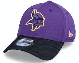 Minnesota Vikings NFL21 Side Line 39THIRTY Purple Flexfit - New Era