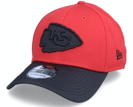 Kansas City Chiefs NFL21 Side Line 39THIRTY Red Flexfit - New Era