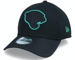 Jacksonville Jaguars NFL21 Side Line 39THIRTY Black Snapback - New Era
