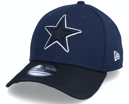 Dallas Cowboys NFL21 Side Line 39THIRTY Navy Flexfit - New Era