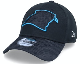Carolina Panthers NFL21 Side Line 39THIRTY Black Flexfit - New Era