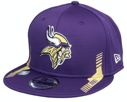 Minnesota Vikings NFL21 Side Line 9FIFTY Purple Snapback - New Era