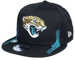 Jacksonville Jaguars NFL21 Side Line 9FIFTY Black Snapback - New Era