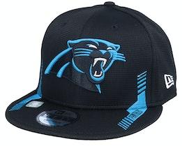 Carolina Panthers NFL21 Side Line 9FIFTY Black Snapback - New Era
