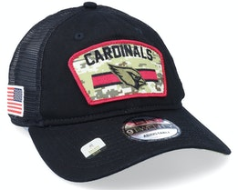 Arizona Cardinals NFL Salute To Service 9TWENTY Black/Camo Trucker - New Era