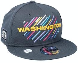 Washington Football Team NFL21 Crucial Catch 9FIFTY Dark Grey Snapback - New Era