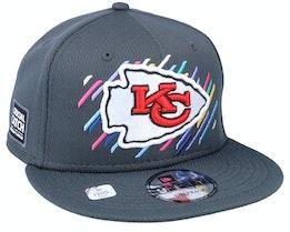 Kansas City Chiefs NFL21 Crucial Catch 9FIFTY Dark Grey Snapback - New Era