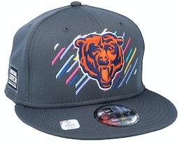 Chicago Bears NFL21 Crucial Catch 9FIFTY Dark Grey Snapback - New Era