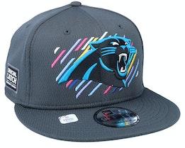 Florida Panthers NFL21 Crucial Catch 9FIFTY Dark Grey Snapback - New Era
