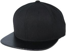 Carbon Black Snapback - Yupoong