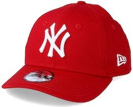 Kids NY Yankees Basic Scarlet 940 Adjustable - New Era