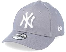 Kids NY Yankees Basic Grey 940 Adjustable - New Era